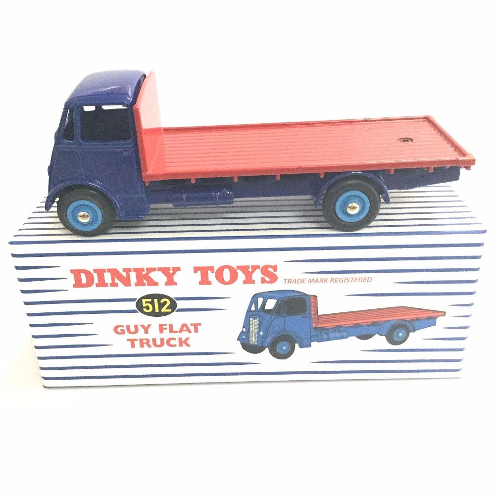 ATLAS 1 43 DINKY TOYS 512 TRADE MARK REGISTERED GUY FLAT TRUCK NEW Alloy Diecast Car