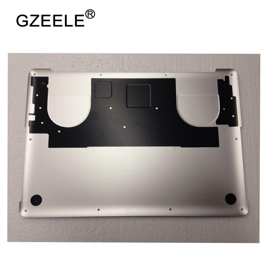 GZEELE New Laptop Lower Bottom Case Cover For Apple for Macbook Pro 15'' Retina A1398 DG Discrete Graphics Late2013 Mid2014 2015 часы sinobi 2015 dg