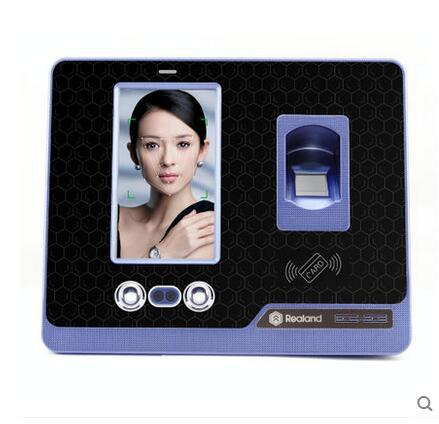 USB interface only Facial recognition fingerprint time attendance system terminal F500