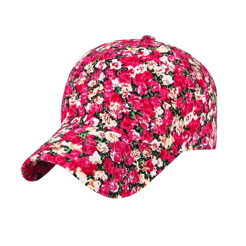 Shade Hat Brand 2017 Small Floral Baseball Cap For Women -8603