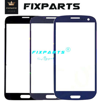 Front Panel For Samsung Galaxy S3 S4 S5 Mini i8190 i9190 G900 Touch Screen Panel LCD Display Front Outer Glass S3 S4 S5 Lens image