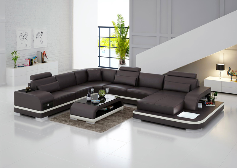 Nieuwe Design Bank.Nieuwe Design Bank Hoekbank Met Led Licht Sofa Corner Sofa Corner