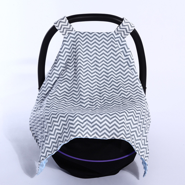 1Pcs Baby Car Seat Canopy Cover Thick Warm Stroller Basket For Winter 3 In 1 Set Accessory