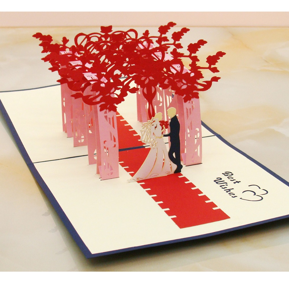 The latest wedding invitation creative unique greeting card handmade the latest wedding invitation creative unique greeting card handmade crafts blessing supplies holiday gifts wedding anniversary on aliexpress alibaba kristyandbryce Gallery