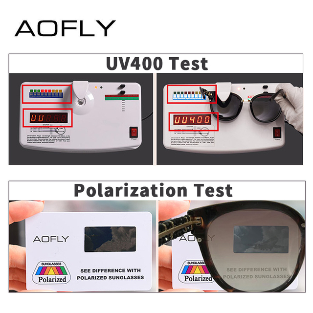 AOFLY BRAND DESIGN Hand Made Luxury Cat Eye Sun glasses For Women Polarized Sunglasses Goggles UV400 A138 4
