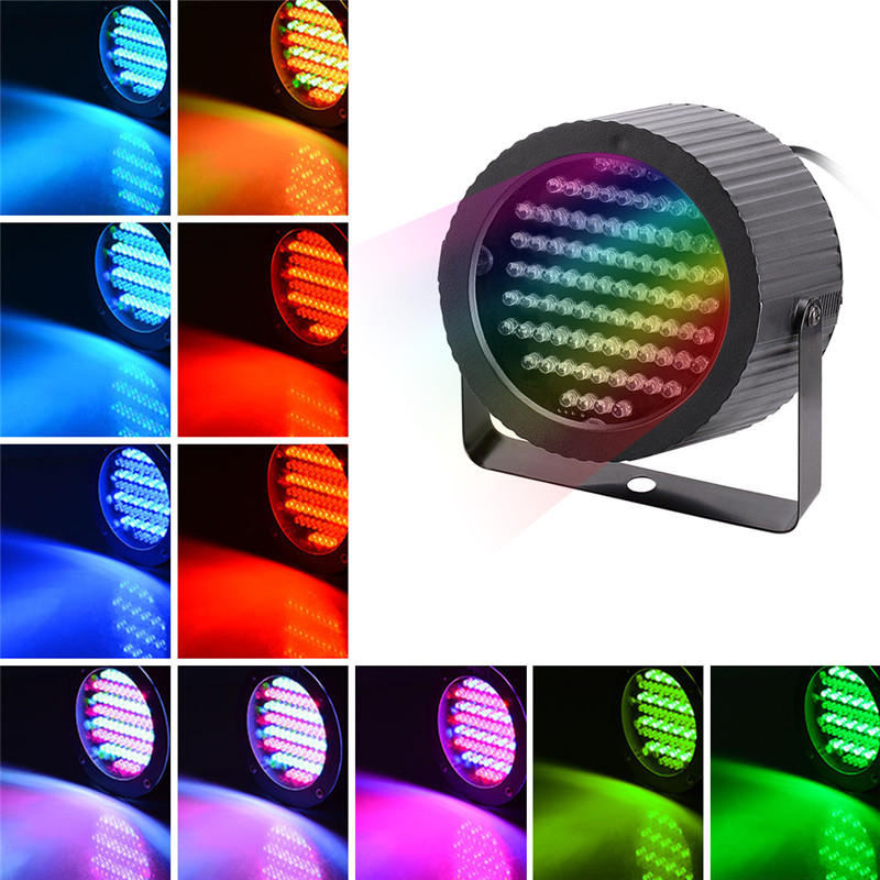 86 PAR Lights Low Power LED Color Mixing Stage Equipment Lights RGB Washing Lamps US UK Plug New Year Christmas Party Glow Props86 PAR Lights Low Power LED Color Mixing Stage Equipment Lights RGB Washing Lamps US UK Plug New Year Christmas Party Glow Props