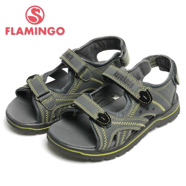 ФЛАМИНГО 2016 новое прибытие летние дети обувь мода высокие дети сандалии для мальчика FX4332