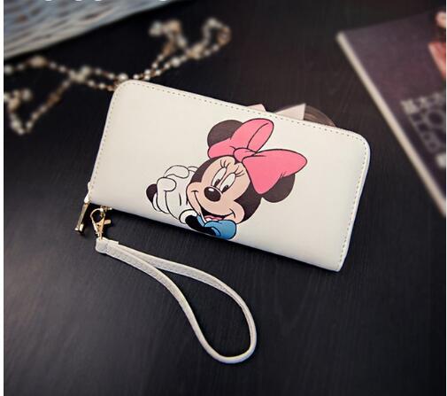 Minnie Women Wallets Bag Purse Leather Handbag Ladies Wallet Clutch Bag Bolsa Feminina Bolsas Female Billeteras