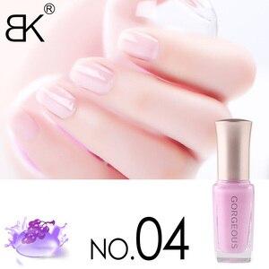 Image 4 - Новый лак для ногтей конфетный телесный цвет Быстросохнущий полупрозрачный Желейный лак для ногтей 10 мл Защита окружающей среды стойкий незаметный