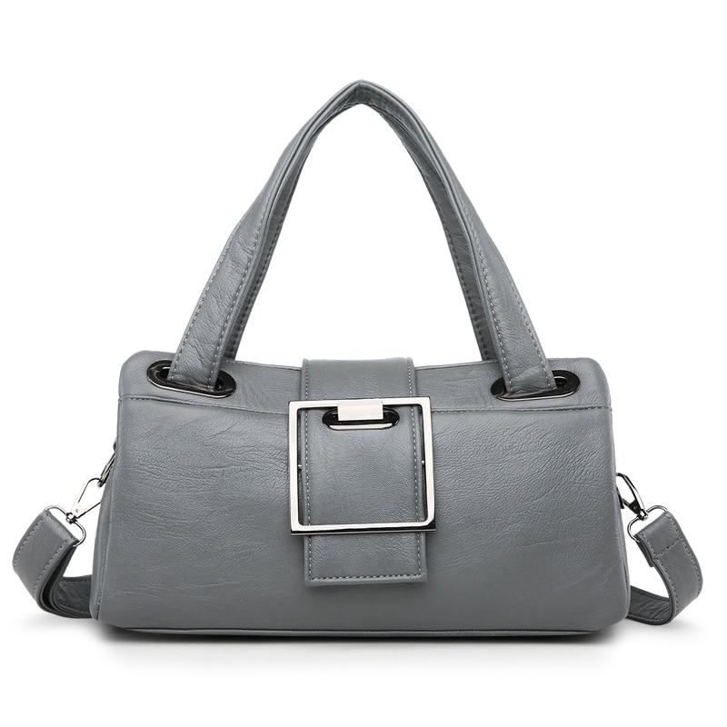Image 3 - Fashion Pillow Women Handbags American Popular Purple Bag New Simple Leisure Lady Shoulder Bag Casual Personality Messenger BagShoulder Bags   -