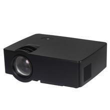 E08 Protable Proyector LED 2500 Lúmenes 800*480 Píxeles 1080 P MINI Proyector de Vídeo de Cine En Casa 2500 Lúmenes