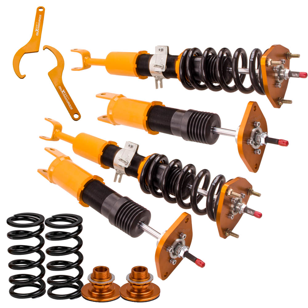 Height Adjustable Coilovers for Nissan 02 09 350Z / 03 07 G35 Coupe / 03 06 G35 Suspension For Infiniti G Coilover Spring Damper