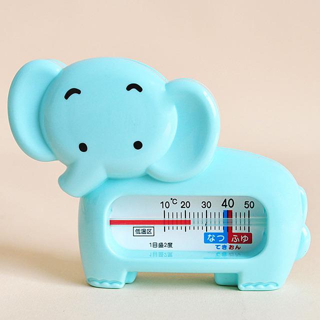 Nueva moda elefante baño del bebé termómetro de la temperatura