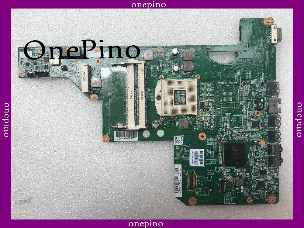 Top qualité, pour HP CQ62 G62 G72 615849-001 carte mère d'ordinateur portable, carte système