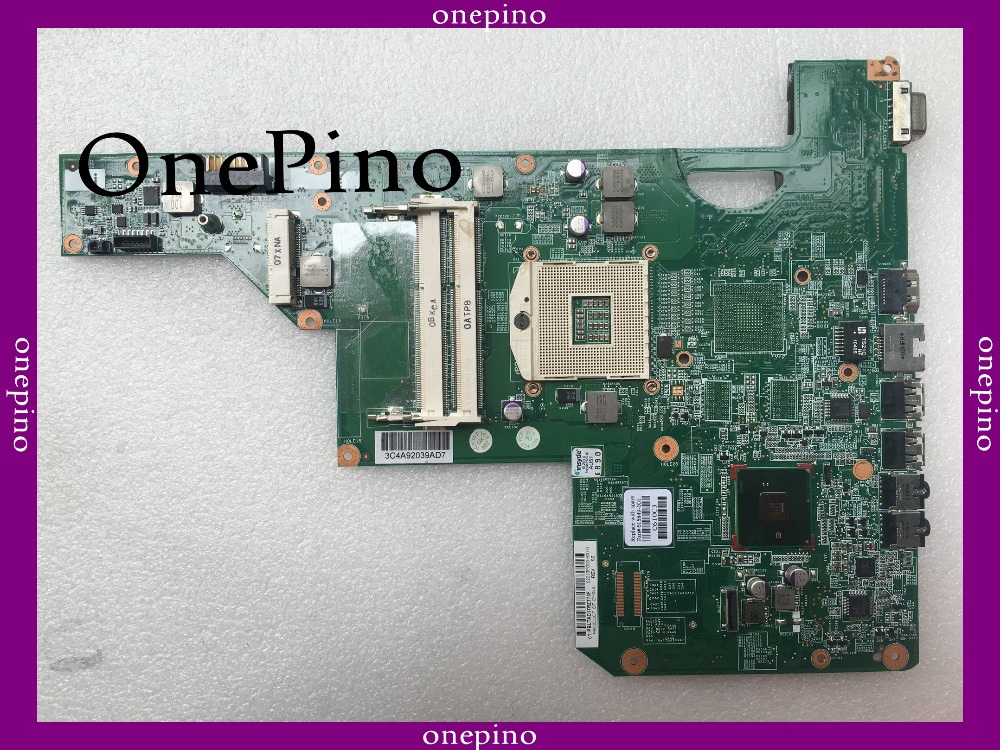 Top quality , For HP CQ62 G62 G72 615849-001 laptop motherboard,system board laptop motherboard g62 cq62 592809 001 31ax2mb0010 da0ax2mb6f0 integrated 100% work promise quality fast ship