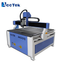 USB port factory price China cnc machine price in india with air cooling spindle for furniture