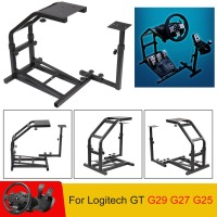GT G29 G27 G25 Racing Wheel Stand Iron Racing Wheel Rack Durable Gaming Mounting Plate Video Game Accessories