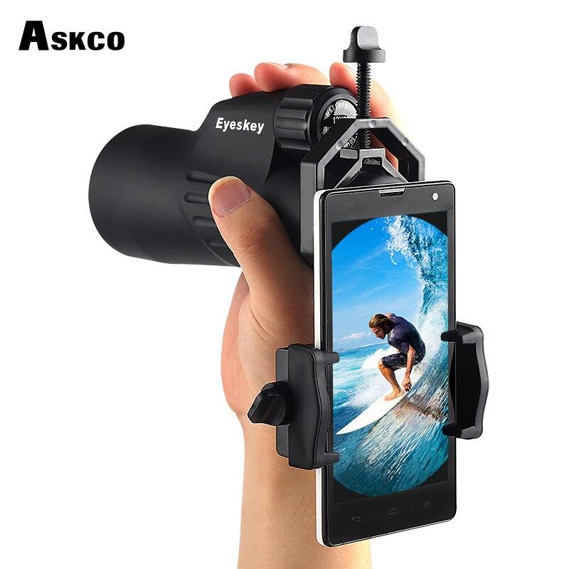 Askco Novi adapter za mobilni telefon za daljnogled Monokularno - Kampiranje in pohodništvo