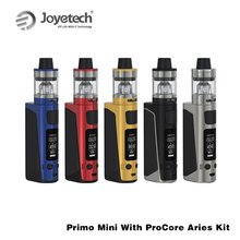 Original Joyetech EVic Primo Mini Kit with 4ml ProCore Aries Tank 80W EVic Primo Mini Battery TC Box Mod E Cigarette Vape Kit