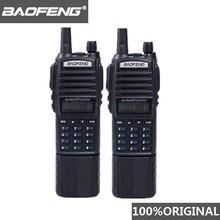 100% الأصلي Baofeng UV 82 اسلكية تخاطب 3800 mAh بطارية المزدوج الفرقة UV82 Pofung اتجاهين الاذاعة المحمولة FM هام الإرسال والاستقبال