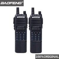 woki טוקי baofeng 2pcs Baofeng UV82 מכשיר הקשר 5W 3800mAh סוללה Dual Band לונג רדיו Dual PTT UV82 Woki טוקי Baofeng UV 82 רדיו Comunicador (1)