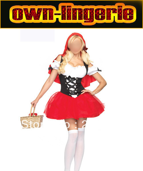 2016 new Little Red Riding Hood movie costume for women sexy costume Little Red Riding Hood 2016 image