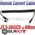 J3.5-30/DC0 Remote Cable for DSLRKIT RF-16NE PIXEL ROOK