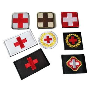 Badges Medical-Rescue Sticker Armband Red The of Outdoor-Products Cross-Chapter Morale