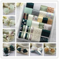 TC13 mixed 29 colors grosgrain ribbon Children Hair Accessory,Sewing Tape Diy hairbows combination ribbon set