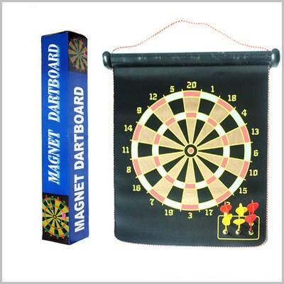 Professional 15 Large Dart Board Magnetic Dartboard Double Side