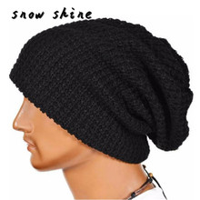 snowshine #2001  Men Women Warm Winter Knit Beanie Skull Slouchy Cap Hat FREE SHIPPING