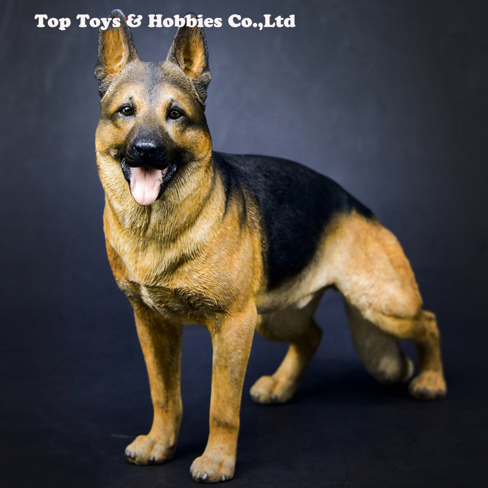 1/6 Working Dog Model German Shepherd With Collar Anime Statue for 12 inches Action Figure Accessories Collections1/6 Working Dog Model German Shepherd With Collar Anime Statue for 12 inches Action Figure Accessories Collections
