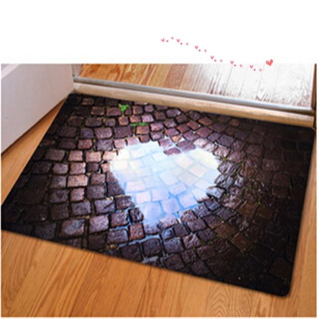 Entrance Doormats Rubber Door Mat Fashion 3D Trap Printed Carpet For Living  Room Bedroom Floor Mats Part 71