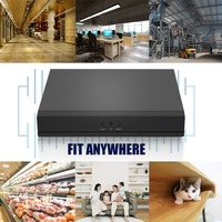 8CH DVR AHD NVR HVR H.264 Security Digital Video Recorder With P2P Cloud Function Portable Safer Monitoring System
