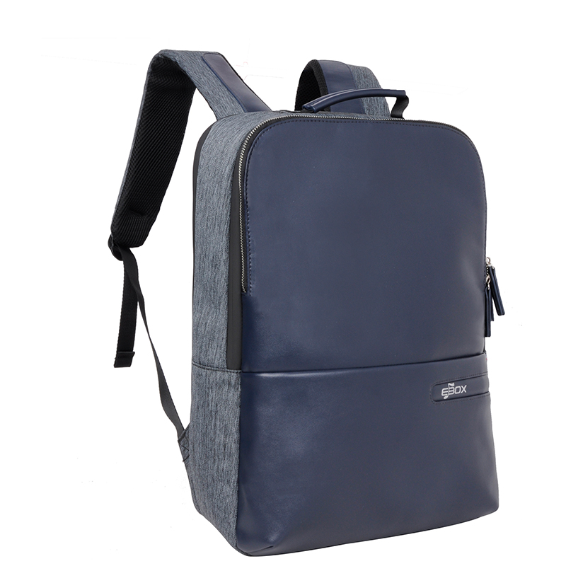 a4eebd6894eb EBOX waterproof Laptop Leather Bobby Backpack men School Bags for women  Girls Boys Mochila Feminina anti theft backpacks Tags