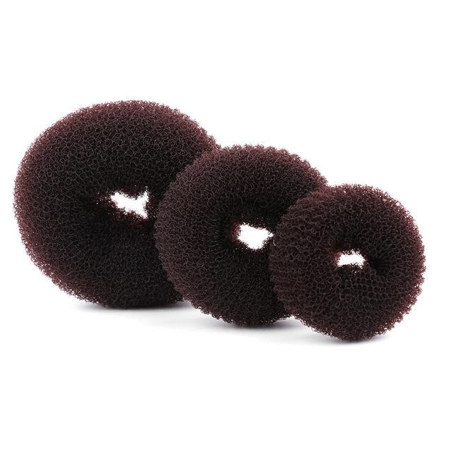 1 PC New Hot Moda Mulheres Elegantes Senhoras Meninas Magia Shaper Donut Cabelo Anel Bun Hair Fashion Styling Ferramenta Acessórios