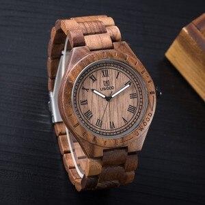 Image 2 - Кварцевые деревянные наручные часы UWOOD браслет женский Повседневный простой винтажный деловой мужской подарок