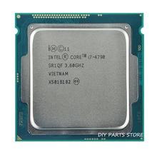 Intel corei7 4790 I7 4790 I7 3.6 ГГц Quad-Core 8 МБ ОПЕРАТИВНОЙ ПАМЯТИ DDR3-1600 DDR3-1333 HD4600