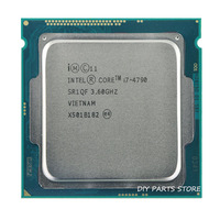 Intel corei7 4790 I7 4790 LGA 1150 I7 Processor 3.6GHz Quad Core 8MB RAM DDR3 1600 DDR3 1333 HD4600