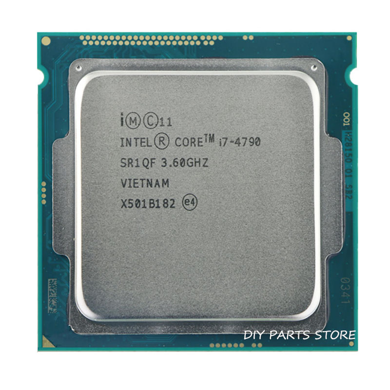 Intel corei7 4790 I7 4790 LGA 1150 I7 Processor 3.6GHz Quad Core 8MB RAM DDR3 1600 DDR3 1333 HD4600