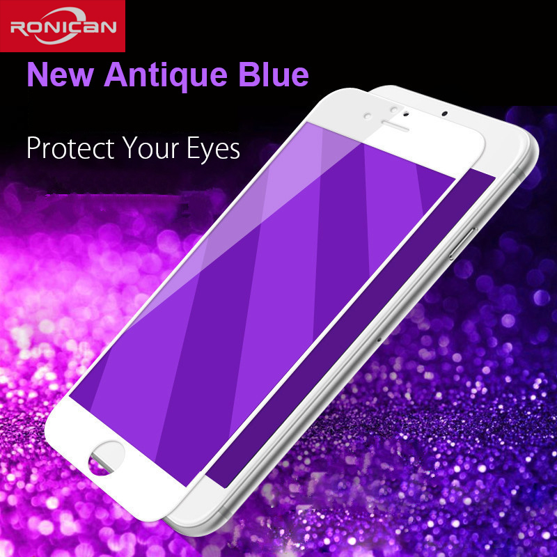 3D Carbon Fiber Tempered Glass For iPhone 6 6S Plus RONICAN Anti Blue Screen Protector Film For iPhone 7 7plus Protective Film3D Carbon Fiber Tempered Glass For iPhone 6 6S Plus RONICAN Anti Blue Screen Protector Film For iPhone 7 7plus Protective Film