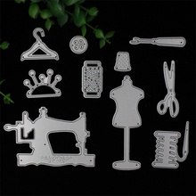 Nähen Set Metall Stanzformen Schablonen für DIY Scrapbooking/fotoalbum Dekorative Prägen DIY Papier Karten