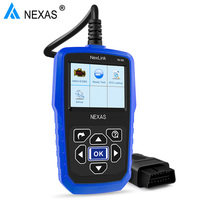 NEXAS NL102 Car and Truck 2 in 1 Auto OBD2 Diagnostic Tool Heavy Duty OBD Scanner with Battery Monitor for Universal Cars/Trucks