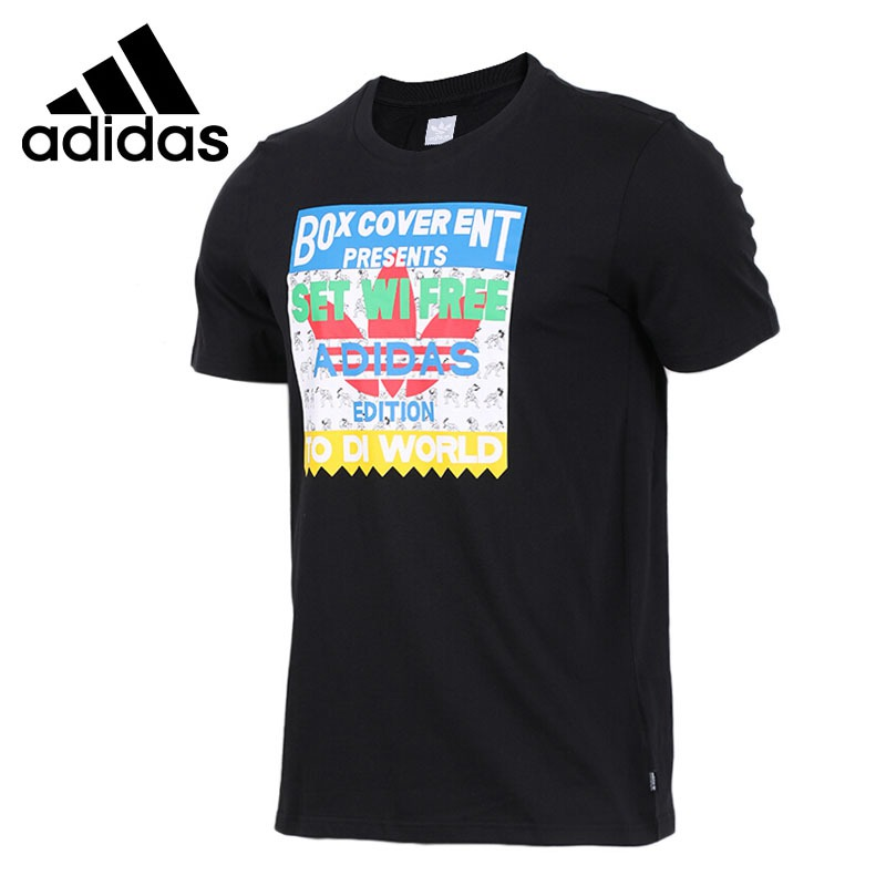 Original New Arrival  Adidas Originals SETWIFREE TEE Men's T-shirts short sleeve Sportswear