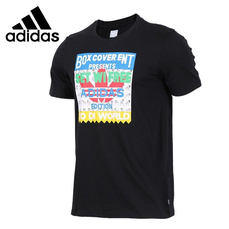 Original New Arrival Adidas Originals SETWIFREE TEE Men s T shirts short sleeve Sportswear