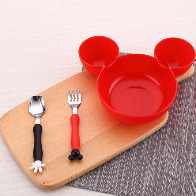 Mickey Bowl + Tableware Set