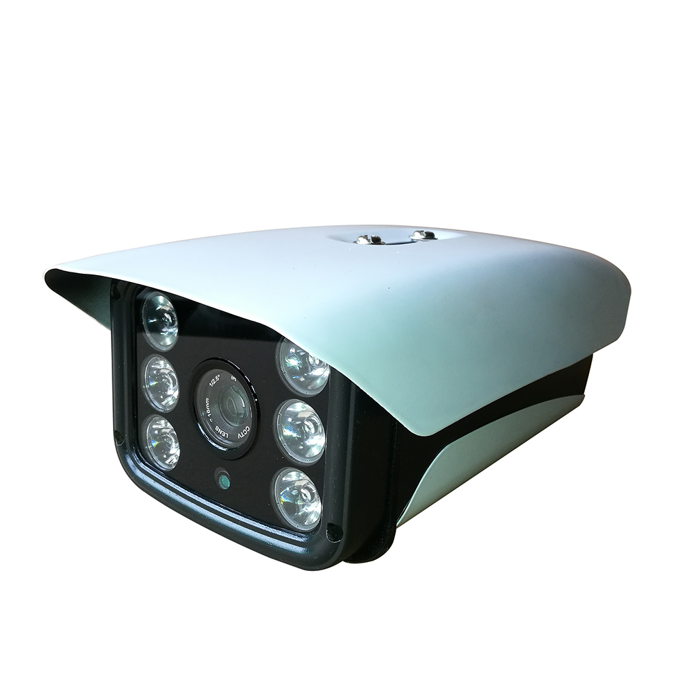 ФОТО  CWH-A6261T 1MP 1.3MP 2MP Waterproof  AHD Camera with 6PCS Array Leds 50-80M IR Distance CCTV Camera Outdoor