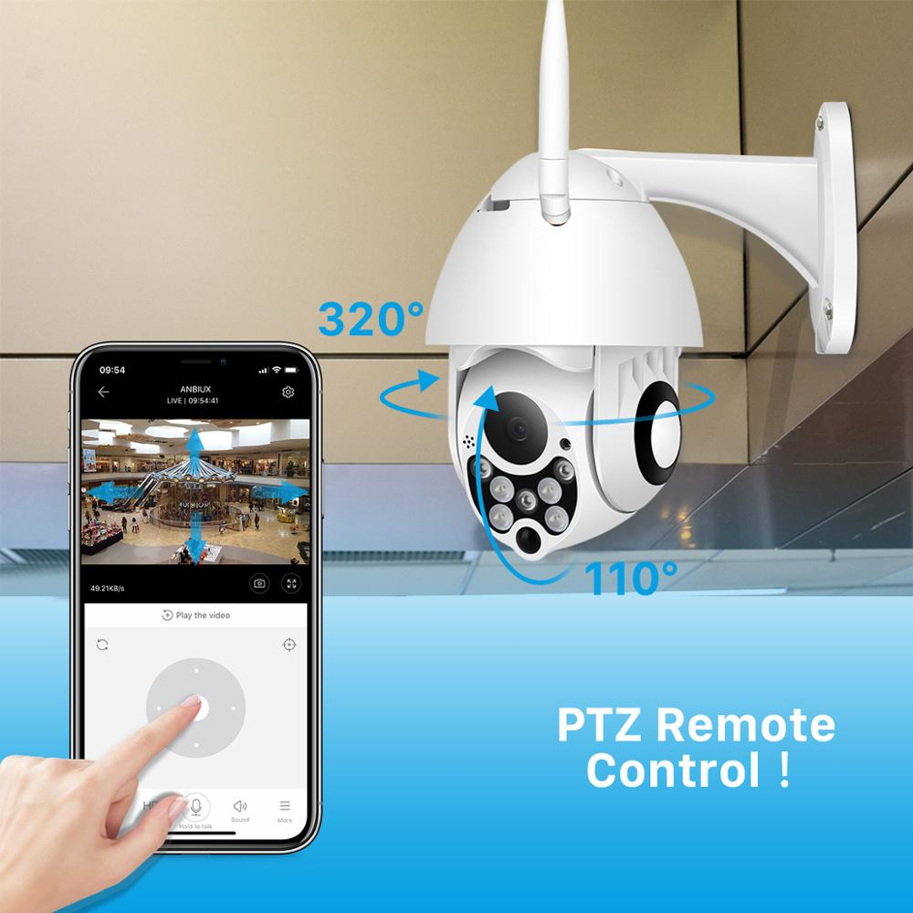 Image 4 - 1080P PTZ 4X Digital Zoom IP Camera Outdoor Speed Dome Wireless Security Camera P2P Cloud CCTV Home Security Wifi Camera BESDER-in Surveillance Cameras from Security & Protection