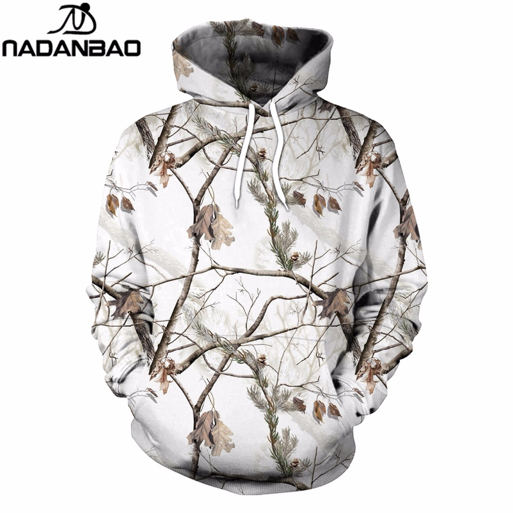 2019 Fashion Nadanbao New 2019 Hip- Hop Women Hoodies Snow And Old Tree 3d Digital Printing Sweatshirt