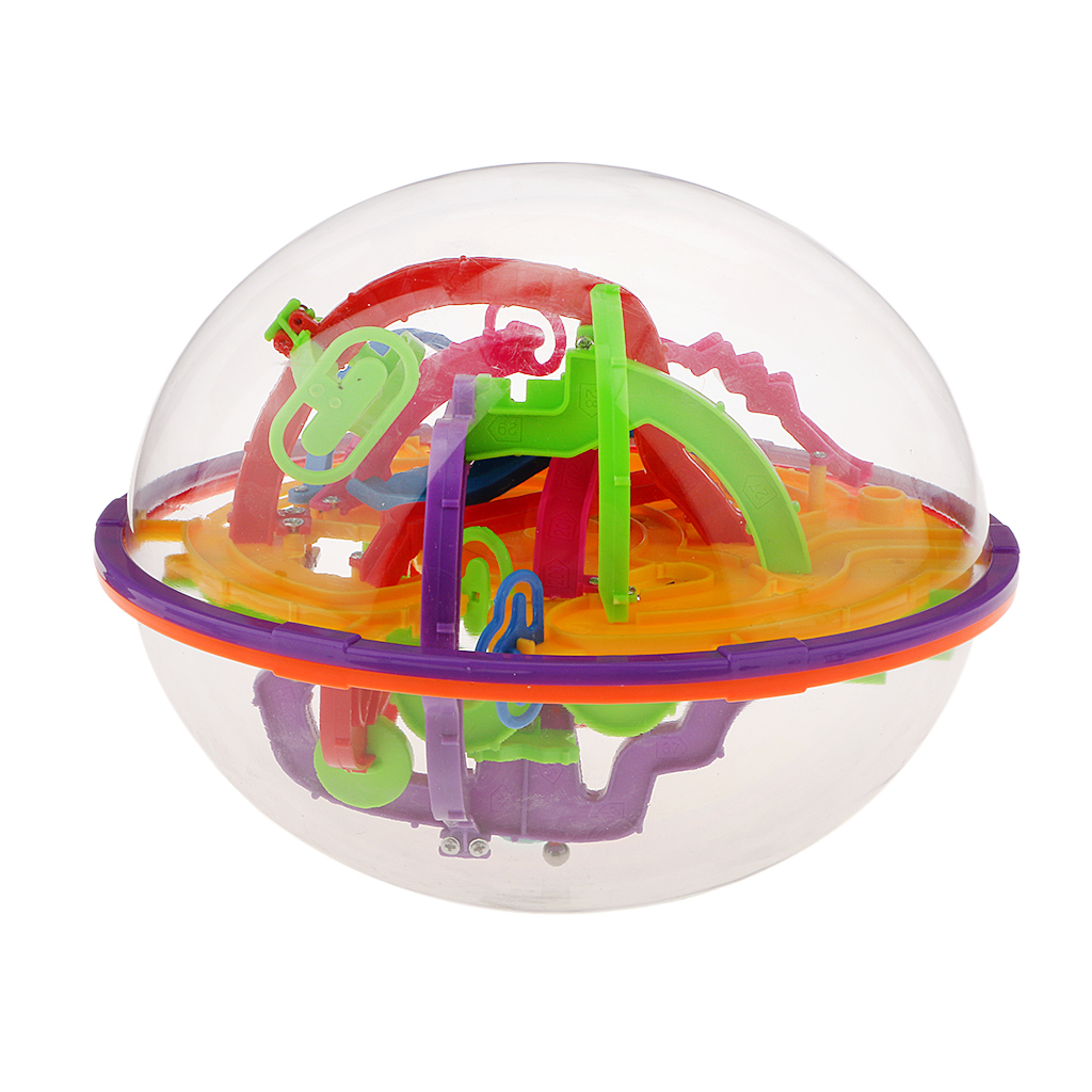 Perplexus Brain Teaser 3D Dreamy Maze Ball Toy Game Learning Educational Toy Puzzles Magic Cubes Gift for Kid Children